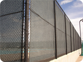 Tennis Court Fencing, Ball Court Fencing