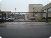 Commercial Parking Lot Gateway Entry System