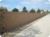 Professionally installed HOA Fence