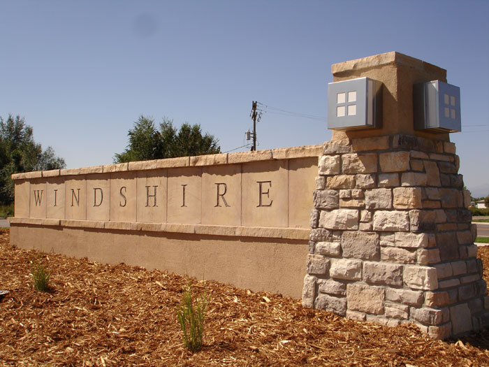 Colorado Professional Monument Installation For Housing