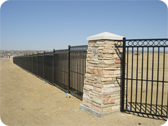 Subdivision Fence Installation