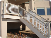 Vinyl Fence and Stair Railing