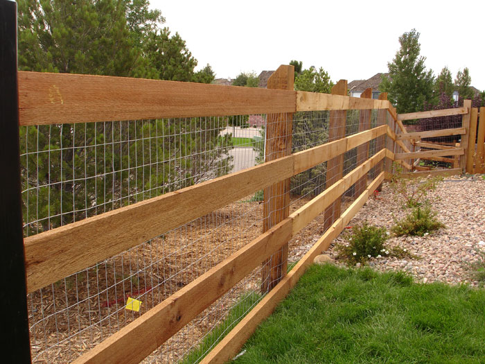 Installed Wood Fencing In Colorado Privacy Fence Cedar