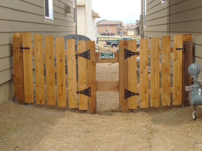 Installed Wood Fencing In Colorado Privacy Fence Cedar