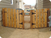 6 ft Wood Privacy Fence